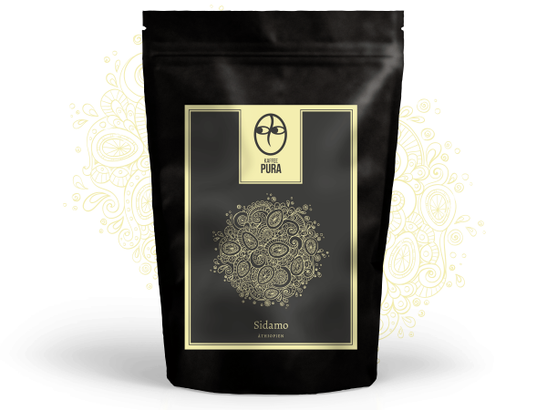 Sidamo Kaffee, BIO & fair gehandelt
