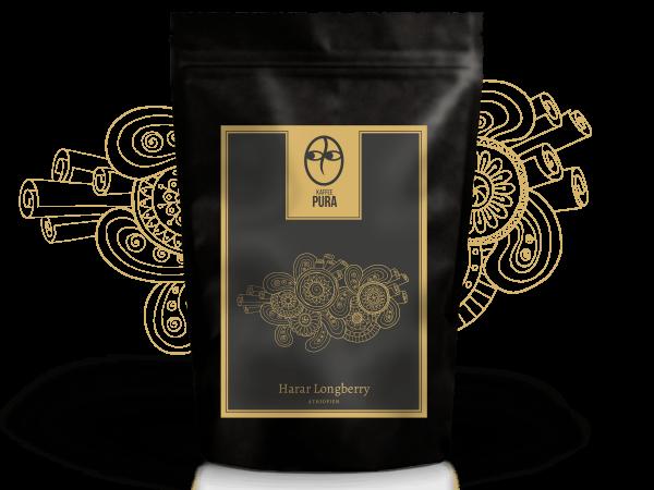 Harar Longberry Kaffee, BIO & fair gehandelt