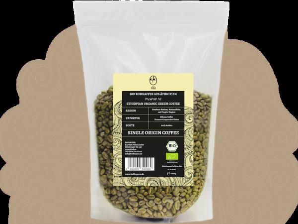 Rohkaffee Sidamo BIO & fair gehandelt