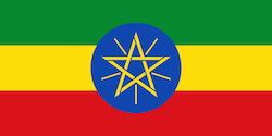 Äthiopische Flagge