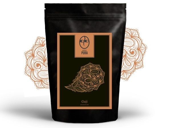 KAFFEE PURA Guji Kaffee, fair gehandelt